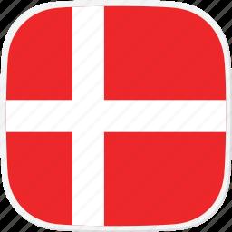 denmark, dk, flag icon