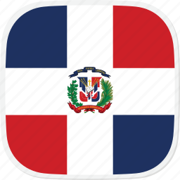 do, dominican, flag, the icon