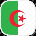 flag, dz, algeria icon