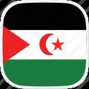 flag, sahara, eh, western