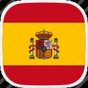 flag, spain, es