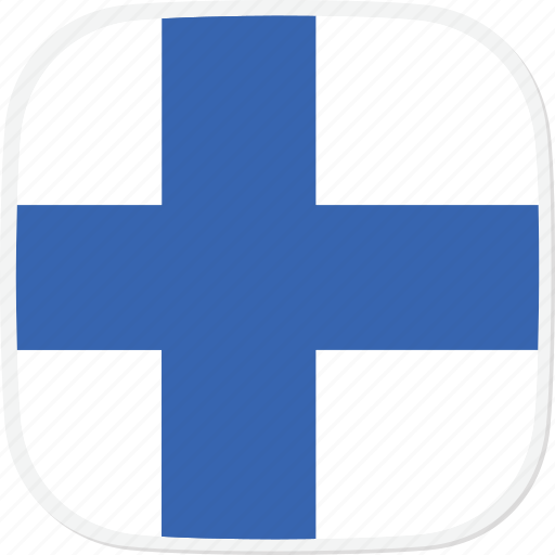 Fi, flag, finland icon - Download on Iconfinder