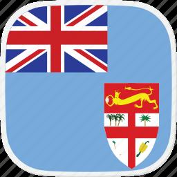 fiji, fj, flag icon