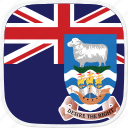 falkland, fk, flag, islands, islas, malvinas icon