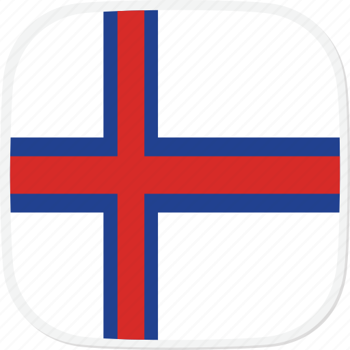 faroe, flag, fo, islands icon