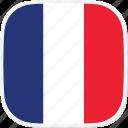 flag, fr, france icon