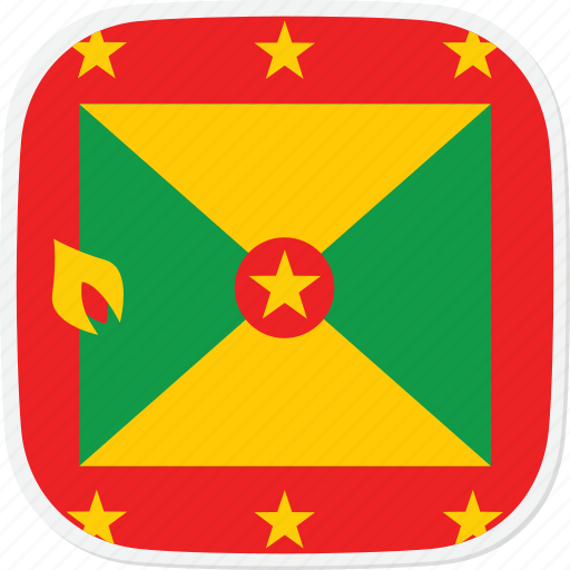 flag, gd, grenada icon