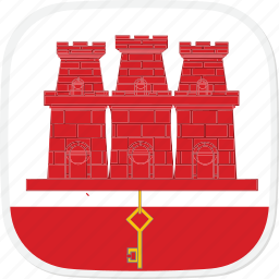 flag, gi, gibraltar, old icon