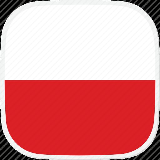 flag, gl, greenland icon