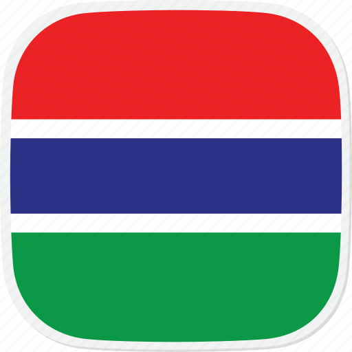 flag, gambia, gm, the icon