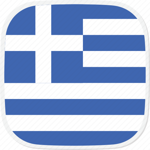 flag, gr, greece icon