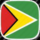 flag, gy, guyana