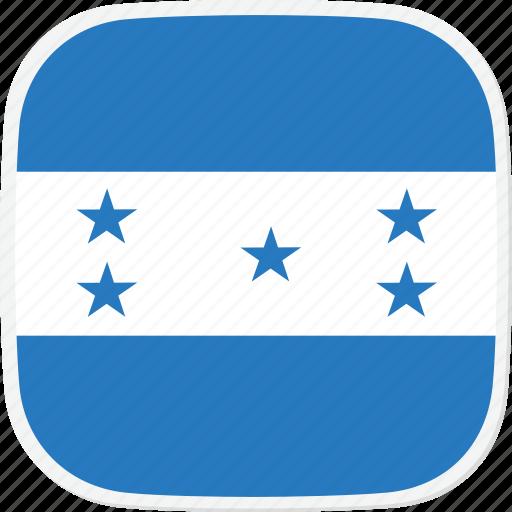 flag, hn, honduras icon