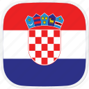 hr, flag, croatia