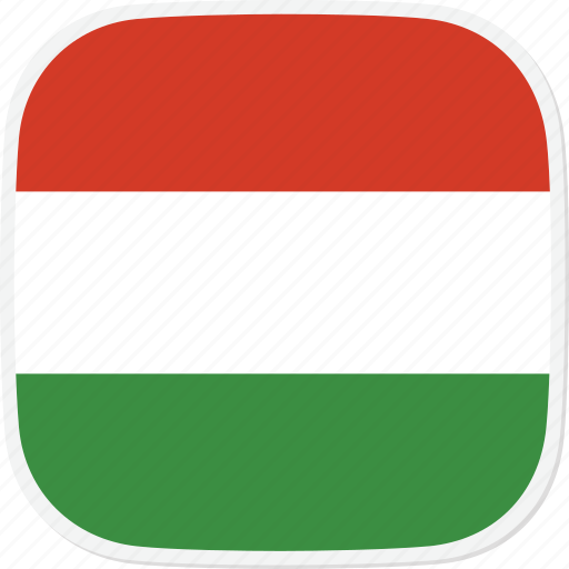 Hungary, flag, hu icon