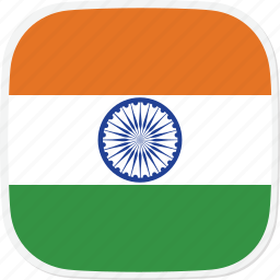 flag, in, india icon