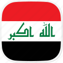 flag, iq, iraq icon