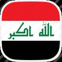 flag, iq, iraq icon