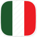 flag, it, italy icon