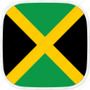 flag, jamaica, jm icon