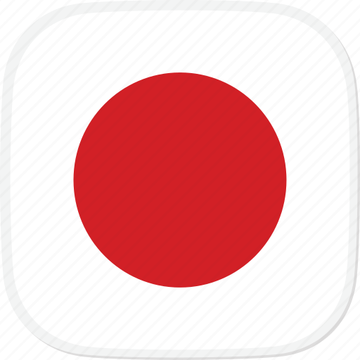 flag, japan, jp icon