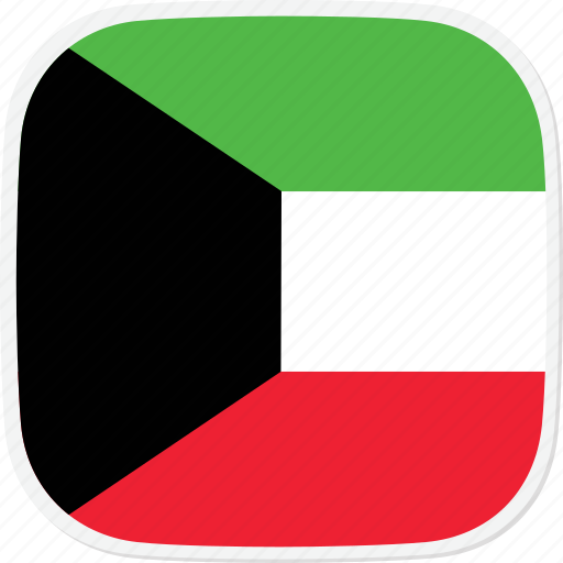 flag, kuwait, kw icon