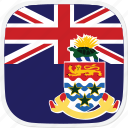 cayman, flag, islands, ky icon