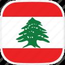 lebanon, flag, lb icon