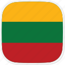 flag, lithuania, lt