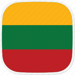 flag, lithuania, lt icon