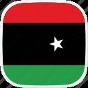 flag, libya, ly