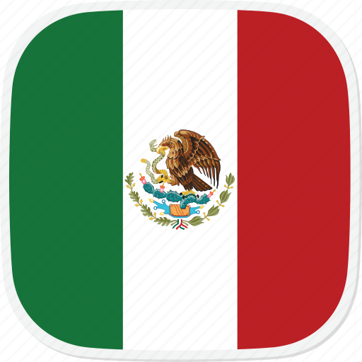flag, mexico, mx icon
