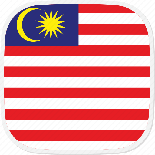 flag, malaysia, my icon