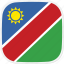 flag, na, namibia icon