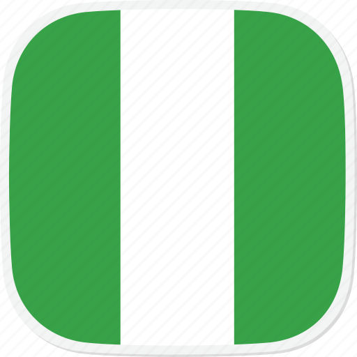 flag, ng, nigeria icon