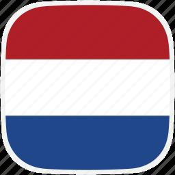 flag, netherlands, nl icon