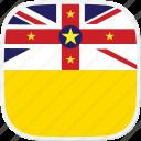 flag, niue, nu
