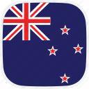flag, new, nz, zealand icon