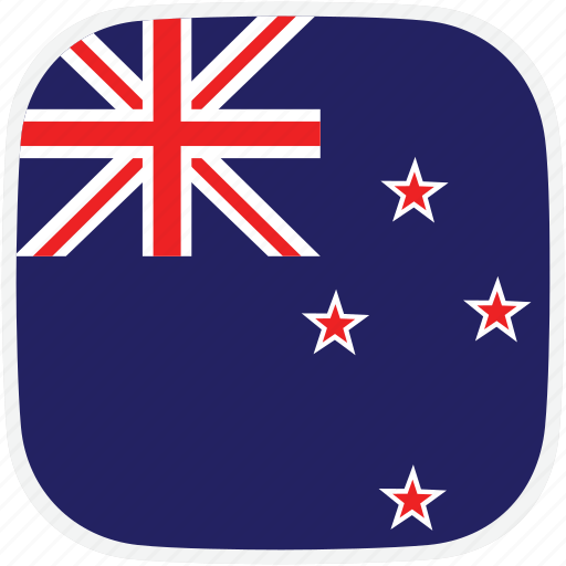 flag, new, nz, zealand icon