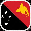 flag, guinea, new, papua, pg icon