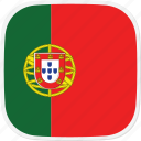 flag, portugal, pt icon