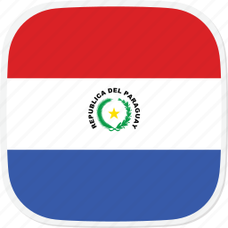 flag, paraguay, py icon
