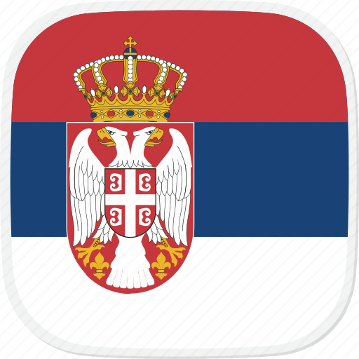 Flag, serbia, rs icon - Download on Iconfinder on Iconfinder
