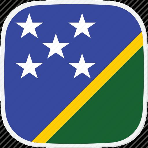 flag, islands, sb, solomon icon