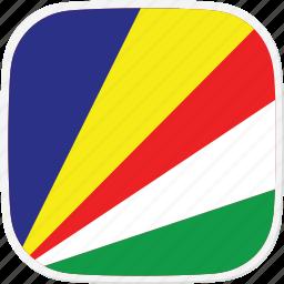 flag, sc, seychelles icon