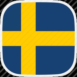 flag, se, sweden icon