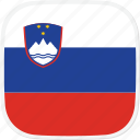 flag, si, slovenia icon