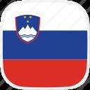 slovenia, flag, si