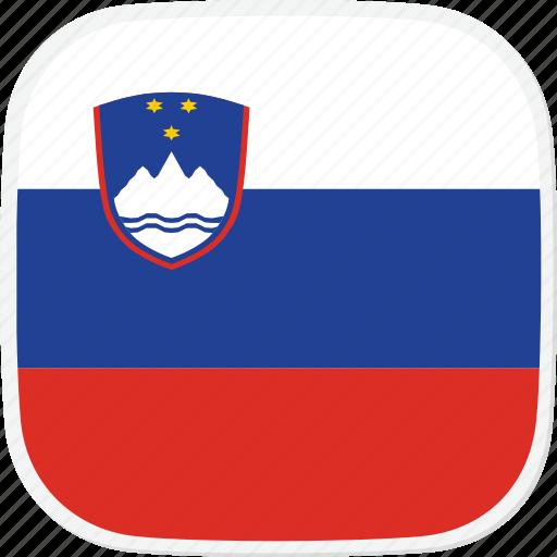 flag, si, slovenia icon