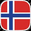 flag, sj, spitzbergen, svalbard icon